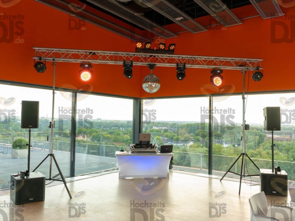 DJ Paket Superior A im Erich Brost Pavillon Essen