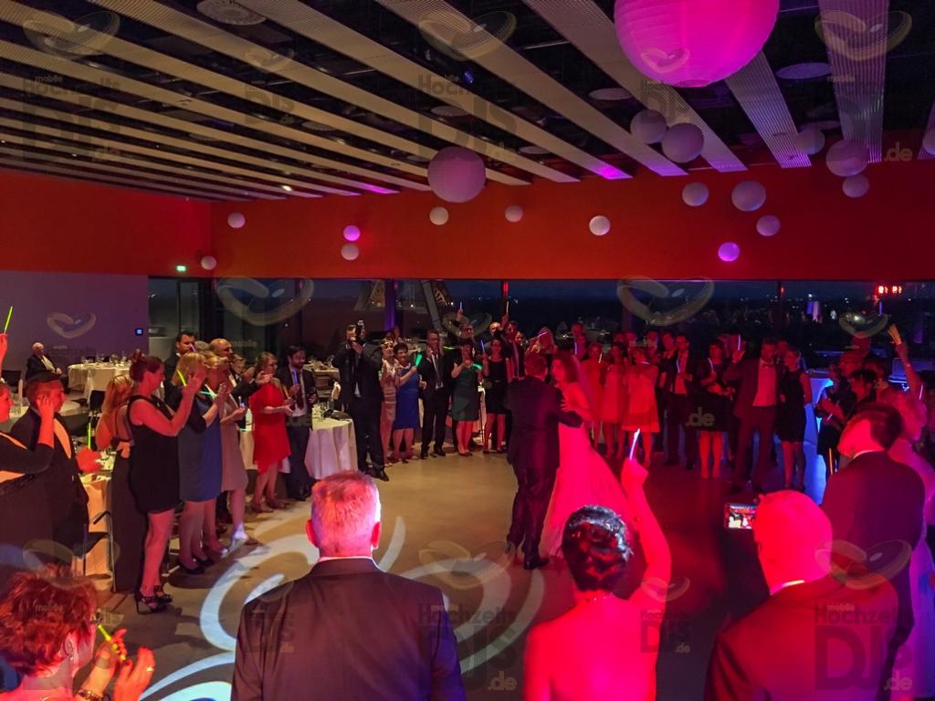 Hochzeitsparty im Erich Brost Pavillon Essen