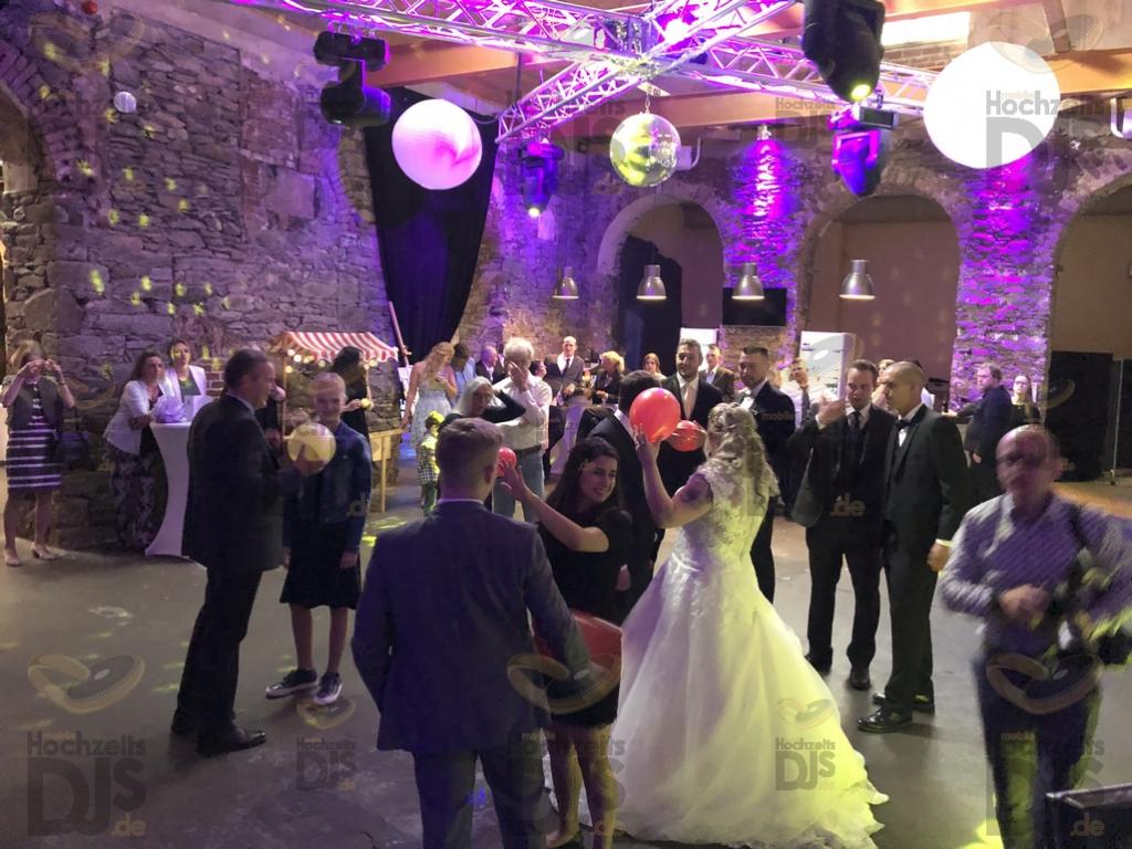 Party in der Alten Schlossfabrik Solingen