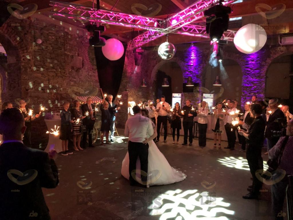 Hochzeitstanz in der Alten Schlossfabrik Solingen