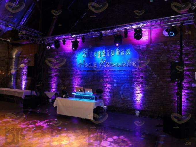 DJ-Paket Superior A mit Extras in der Festscheune des Haus Kemnade
