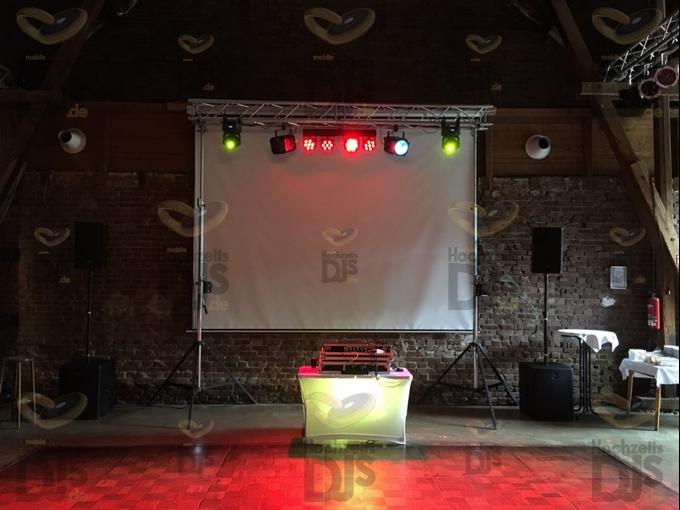 DJ-Paket Superior A in der Festscheune des Haus Kemnade
