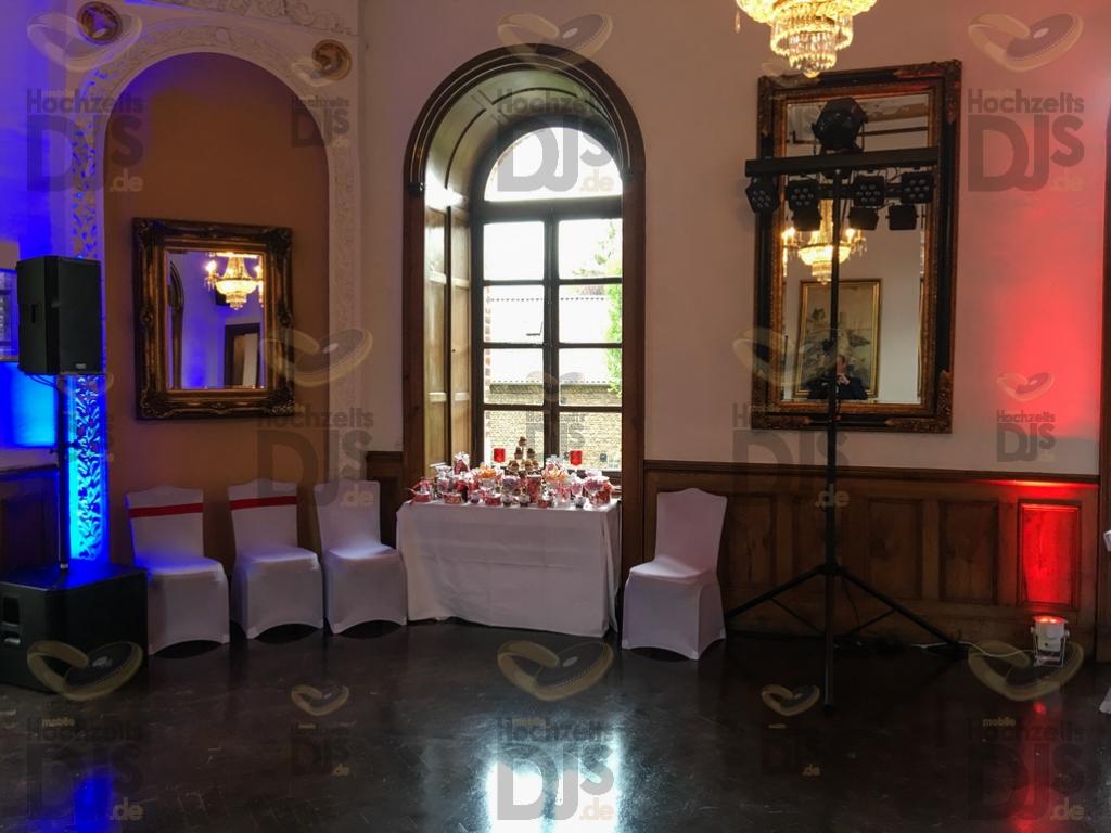 DJ-Paket Elegance auf Burg Bergerhausen