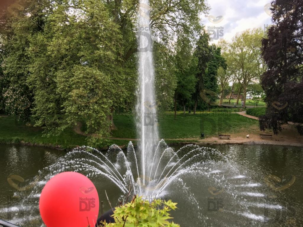 Park auf Burg Bergerhausen