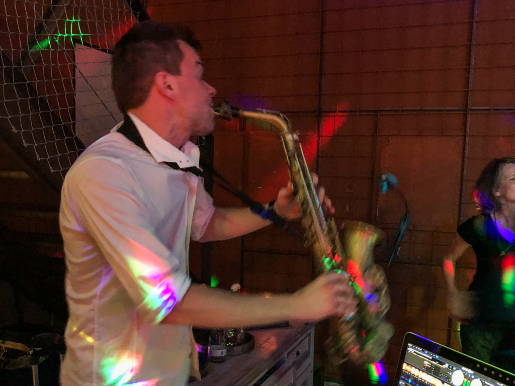 Saxophon im Gapp's Essen