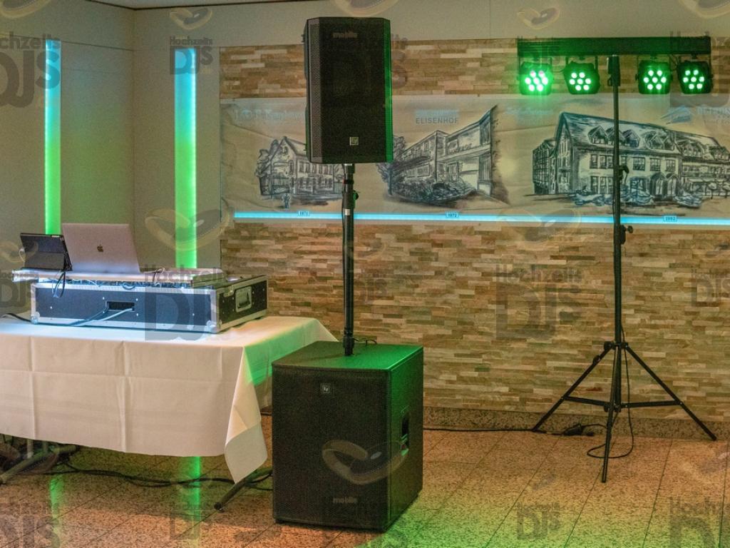 DJ Paket Elegance im Hotel Elisenhof Mönchengladbach