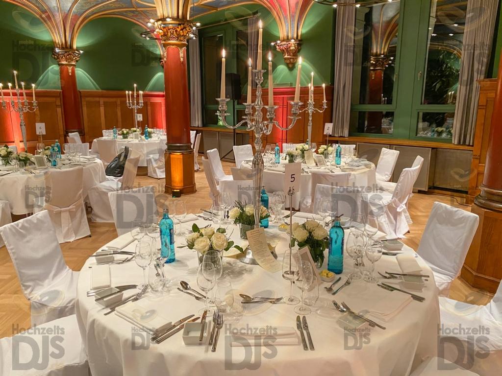 Tischdeko im Rossini Stadthalle Wuppertal