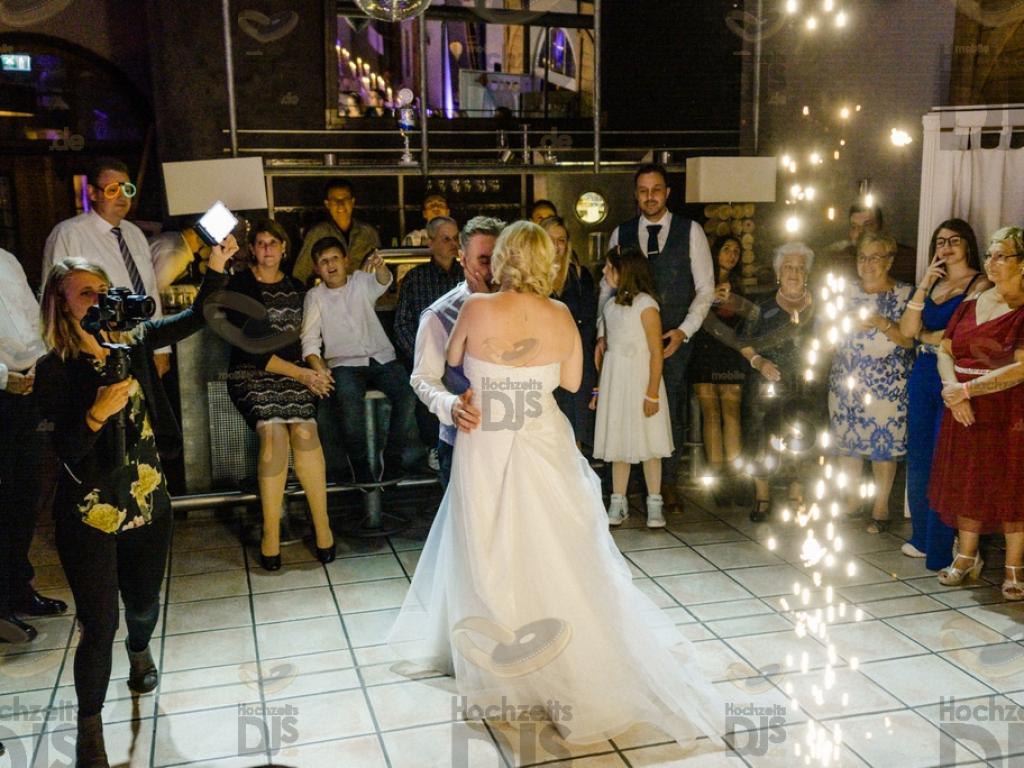 Hochzeitstanz im Bahnhof Nord Bottrop