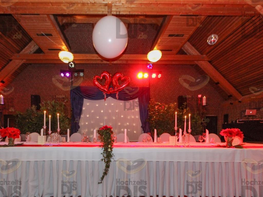 Brauttisch im Reuterhof Neuss