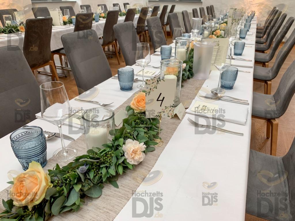 Hochzeitsdeko im Rittergut Störmede Geseke