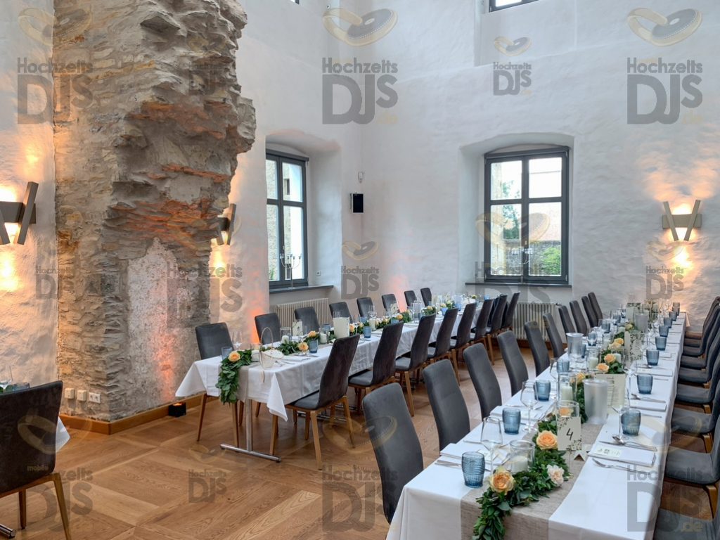 Tische im Rittergut Störmede Geseke