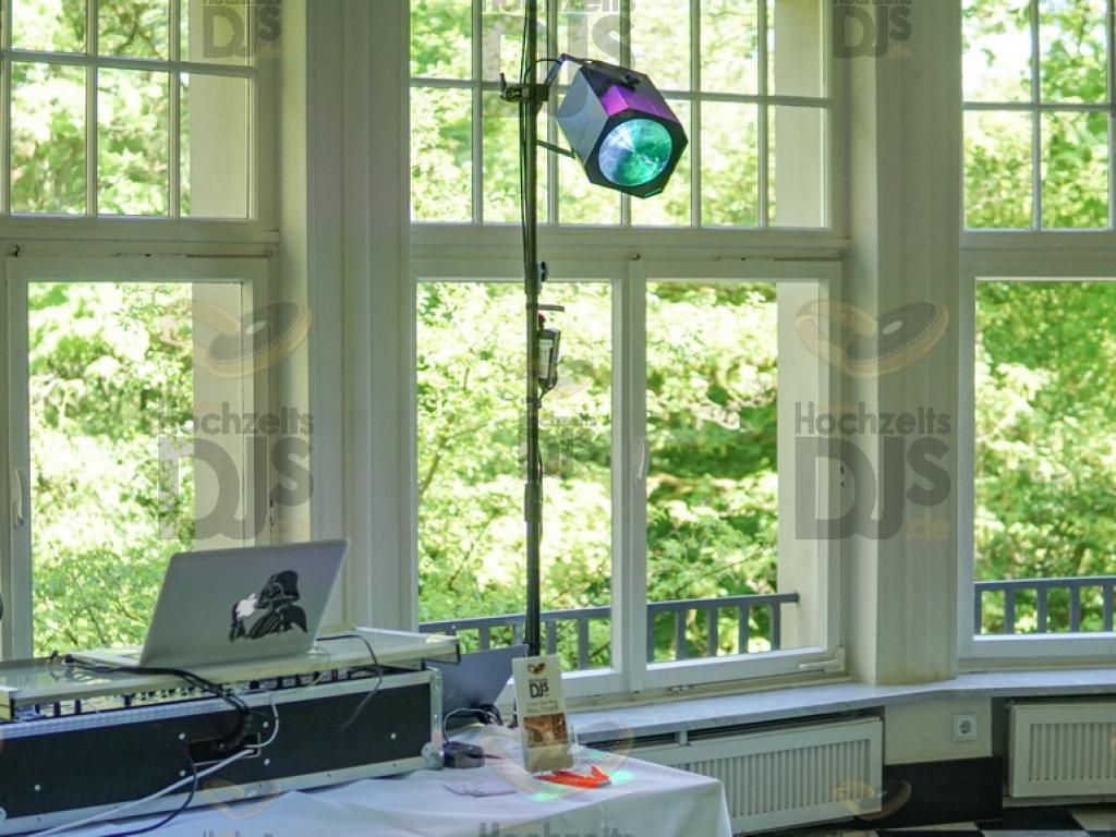 Lichteffekt im Schloss Eulenbroich Rösrath