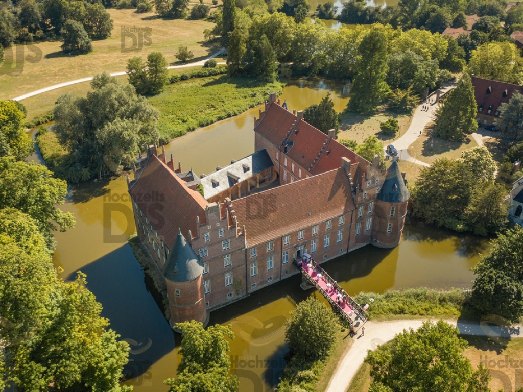 Drohne im Schloss Herten