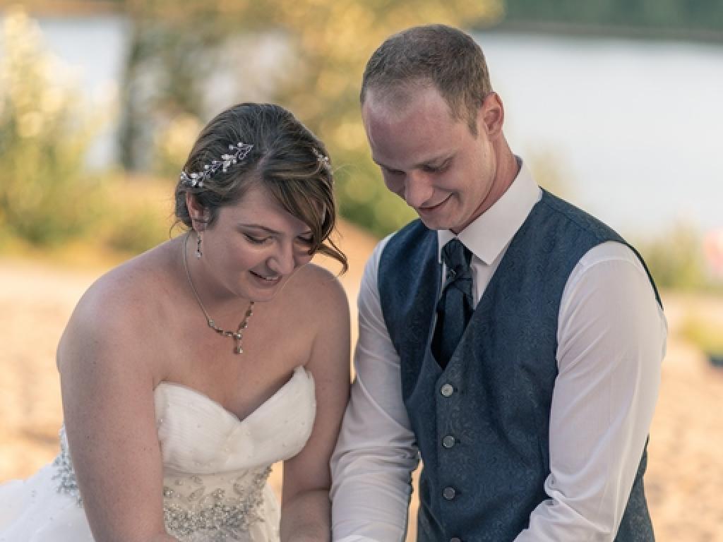 Braut am Sandhofsee Neuss