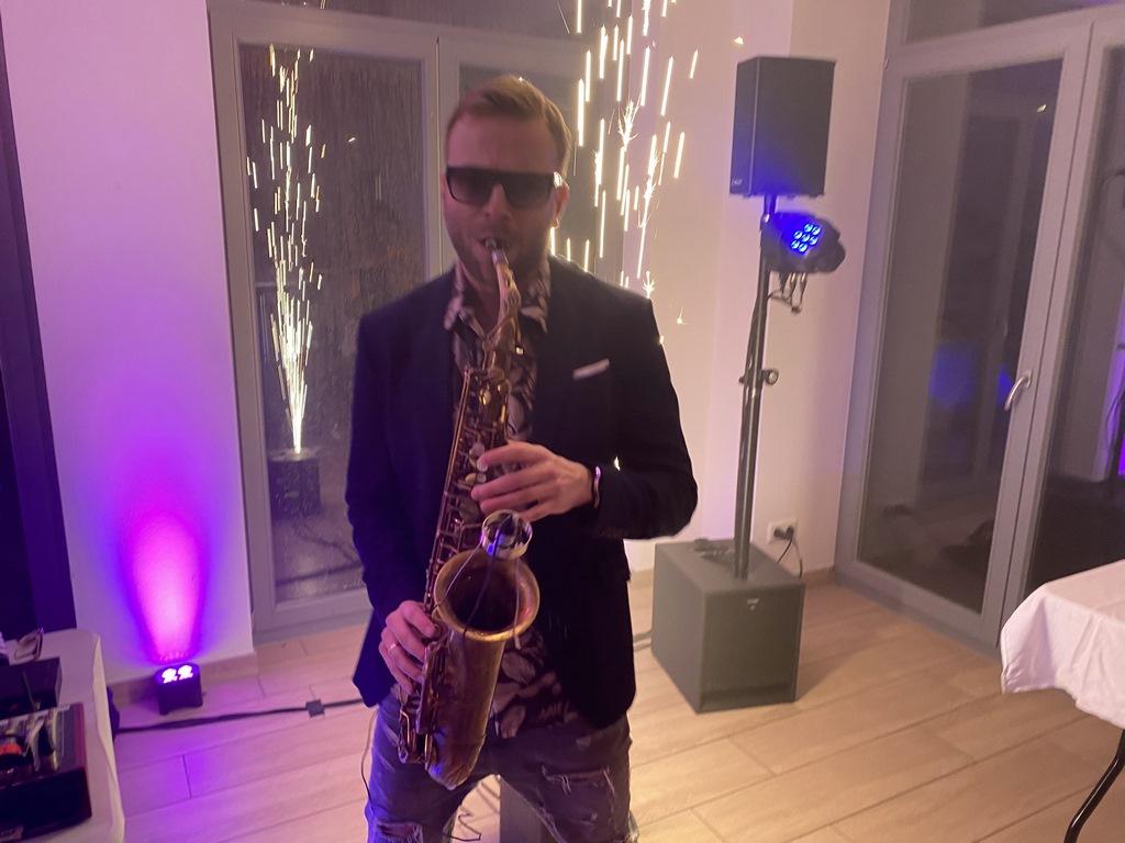 Saxophon am Sandhofsee Neuss