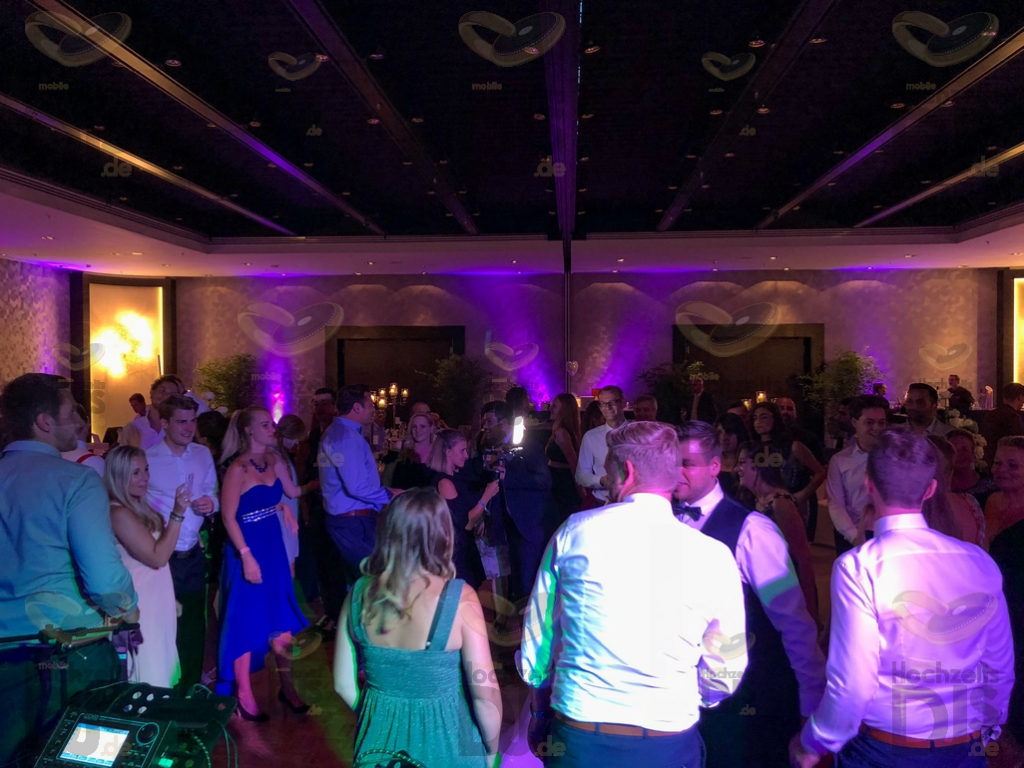 Party im Hyatt Regency Düsseldorf