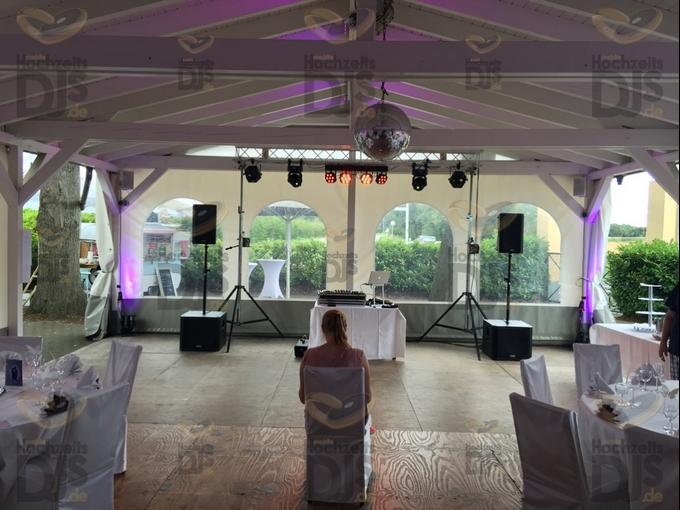 DJ-Paket Superior A im Rittersaal des Klosterhofs Knechtsteden