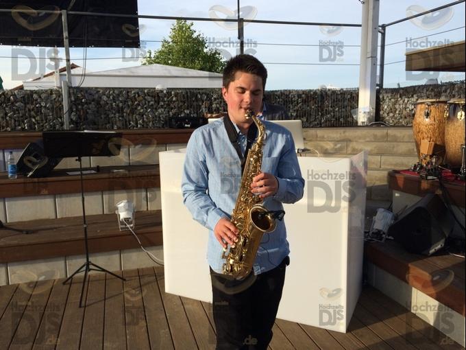 Saxophonist im MonBerg