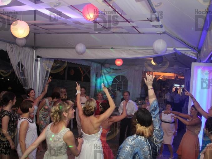Hochzeitsfeier im MonBerg