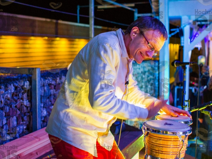Percussionist im MonBerg