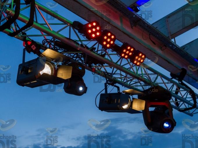 Lichtaufbau im MonBerg