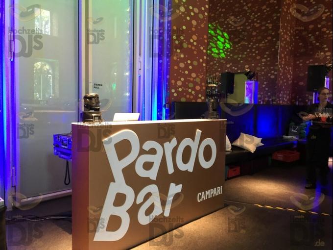 DJ Platz in der Pardo Bar