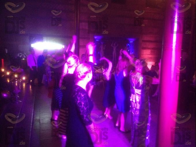 Hochzeitsfeier im Caruso