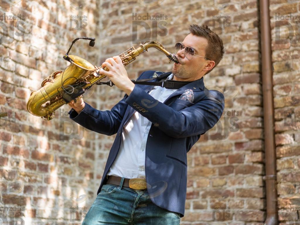 Saxophon im Rittergut Orr