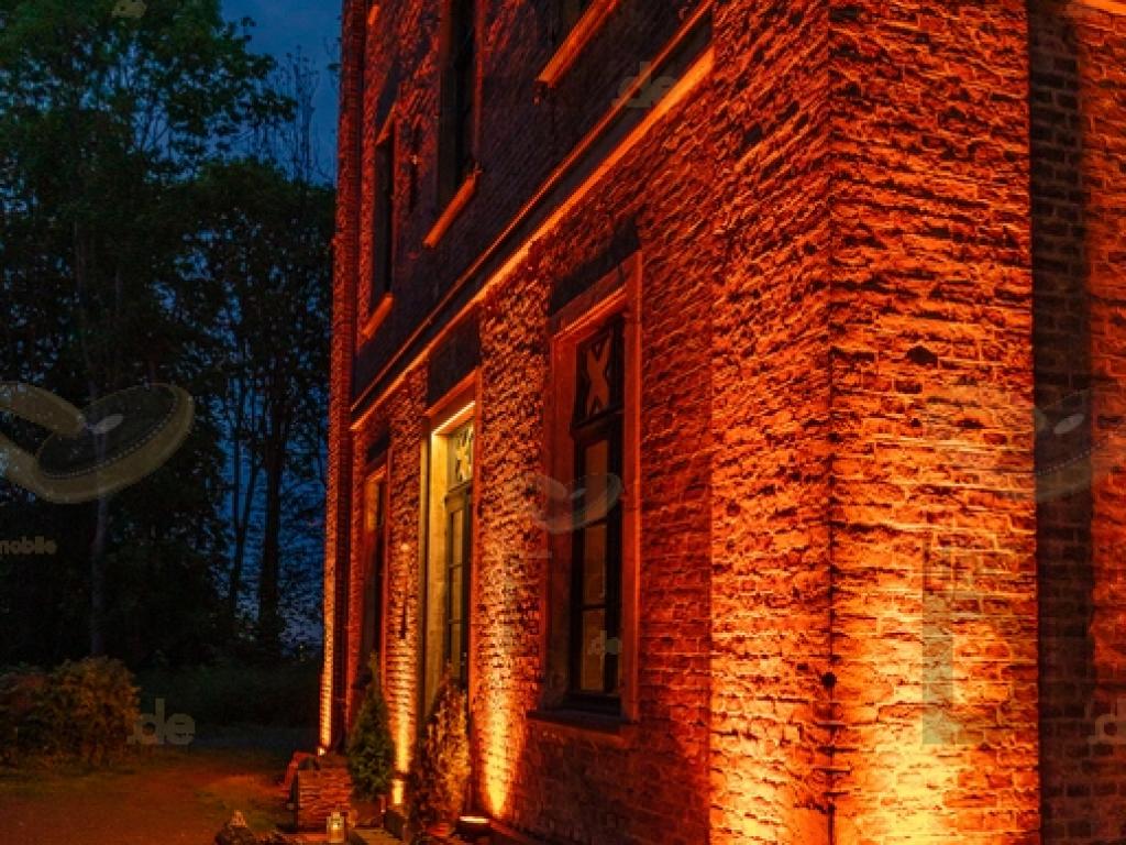 Fassade im Rittergut Orr