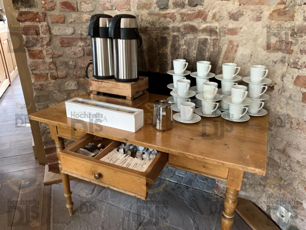 Kaffee im Rittergut Orr