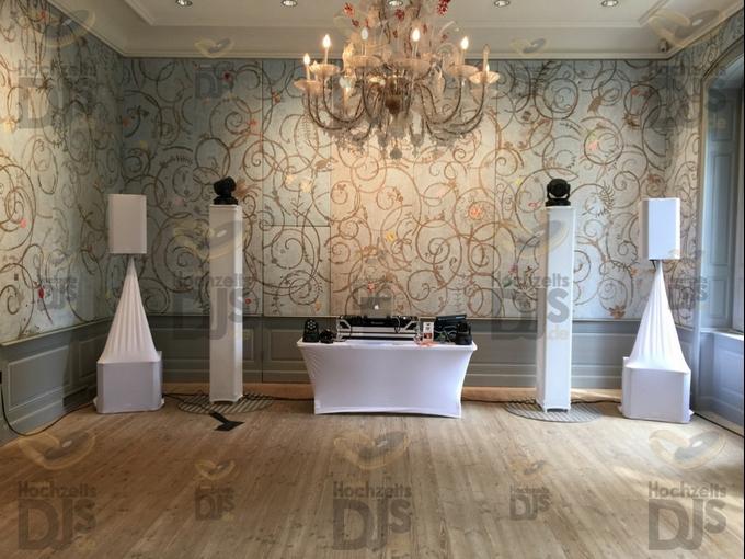 Aufbau DJ-Paket Superior B in Schloss Benrath