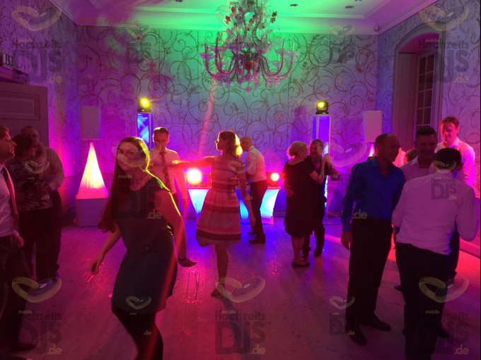 Hochzeitsfeier in Schloss Benrath