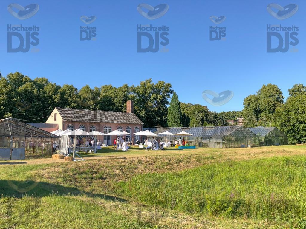 Schloss Diersfordt Orangerie Schirme