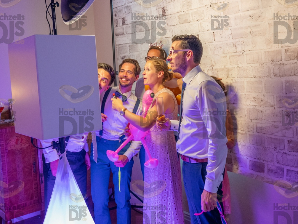 Schloss Diersfordt Photobooth