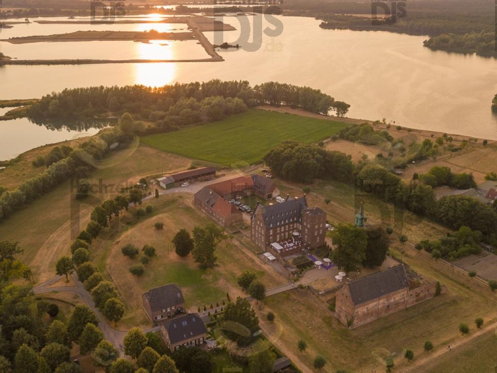 Schloss Diersfordt Drohnenaufnahme