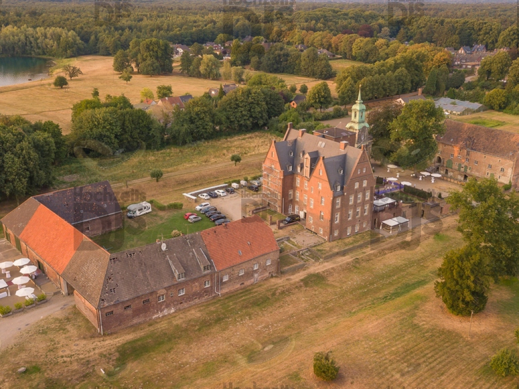 Schloss Diersfordt Drohne