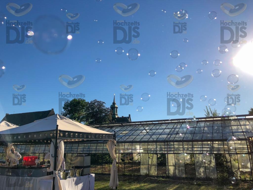 Schloss Diersfordt Seifenblasen