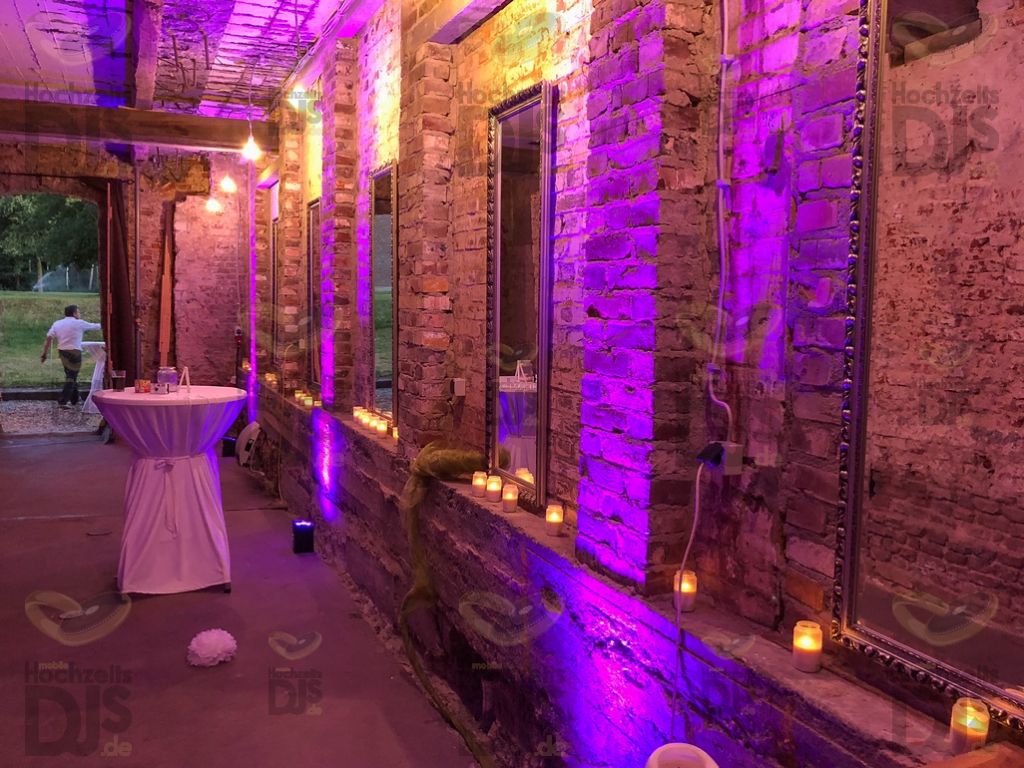Schloss Diersfordt Gewölbekeller LED Spots