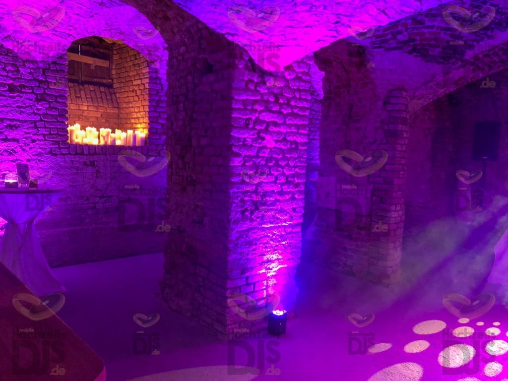 Schloss Diersfordt Gewölbekeller Floorspots