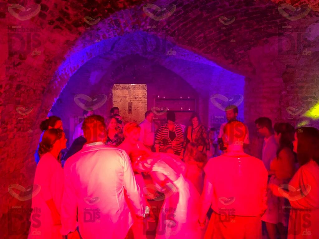Schloss Diersfordt Gewölbekeller Party