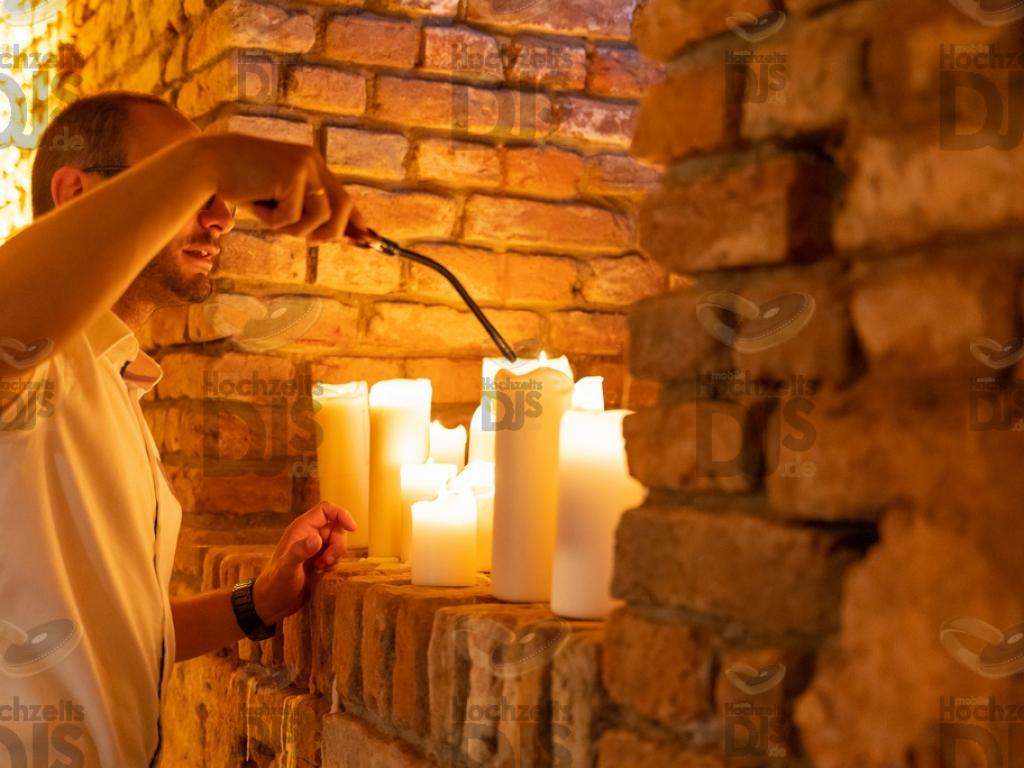 Schloss Diersfordt Kerzen