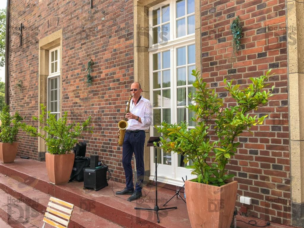 Schloss Diersfordt Saxophon Empfang