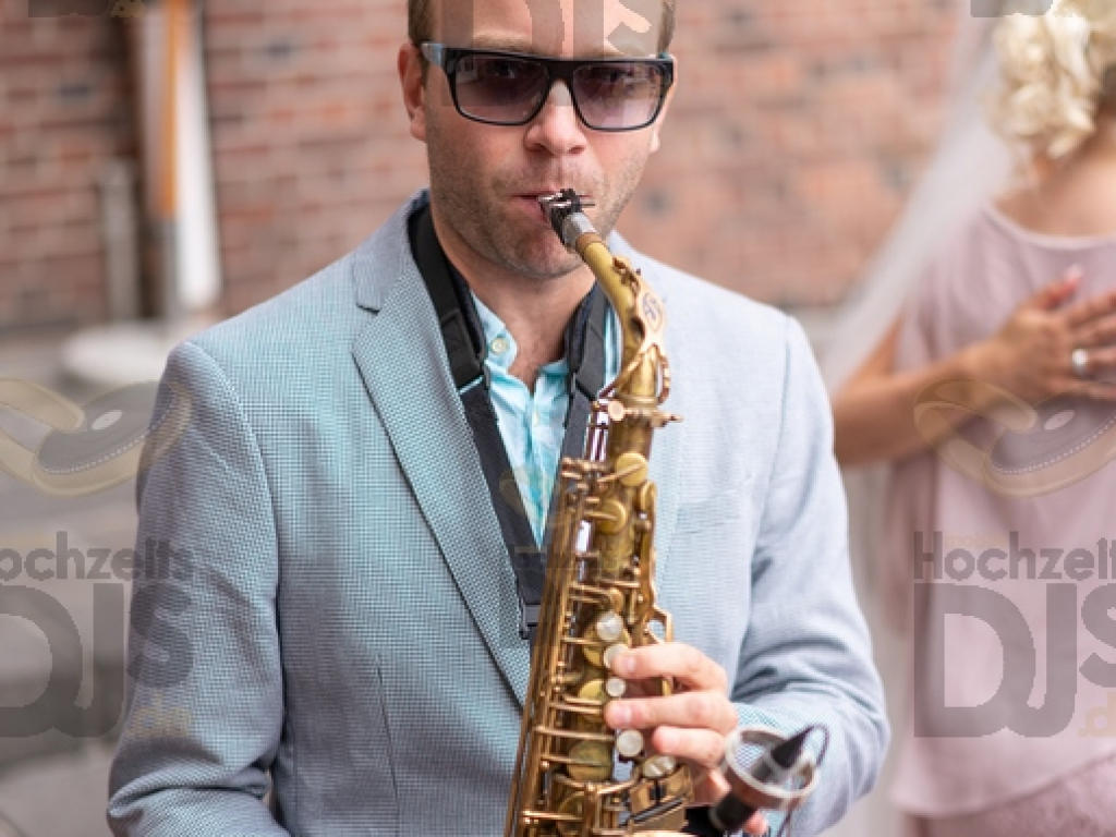 Schloss Diersfordt Saxophonist Empfang