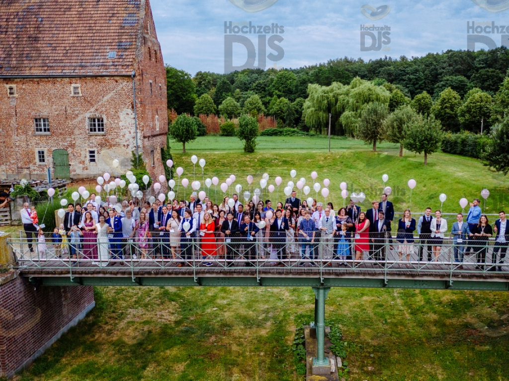 Ballons im Schloss Diersfordt