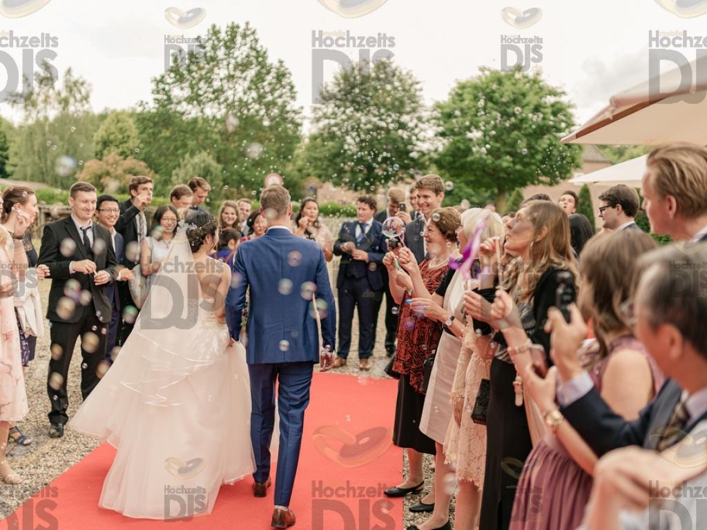 Braut und Bräutigam im Schloss Diersfordt