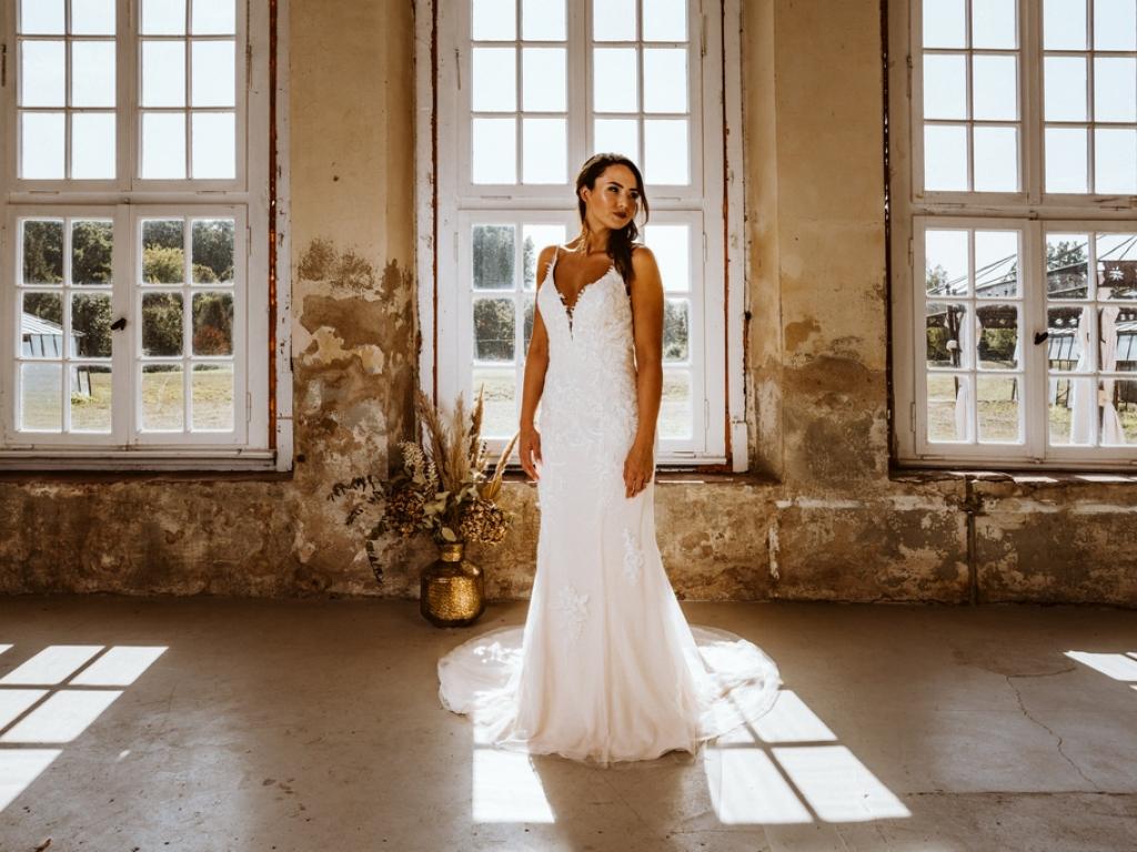 Braut in der Orangerie Schloss Diersfordt