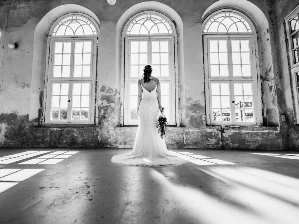 Braut in Schloss Diersfordt