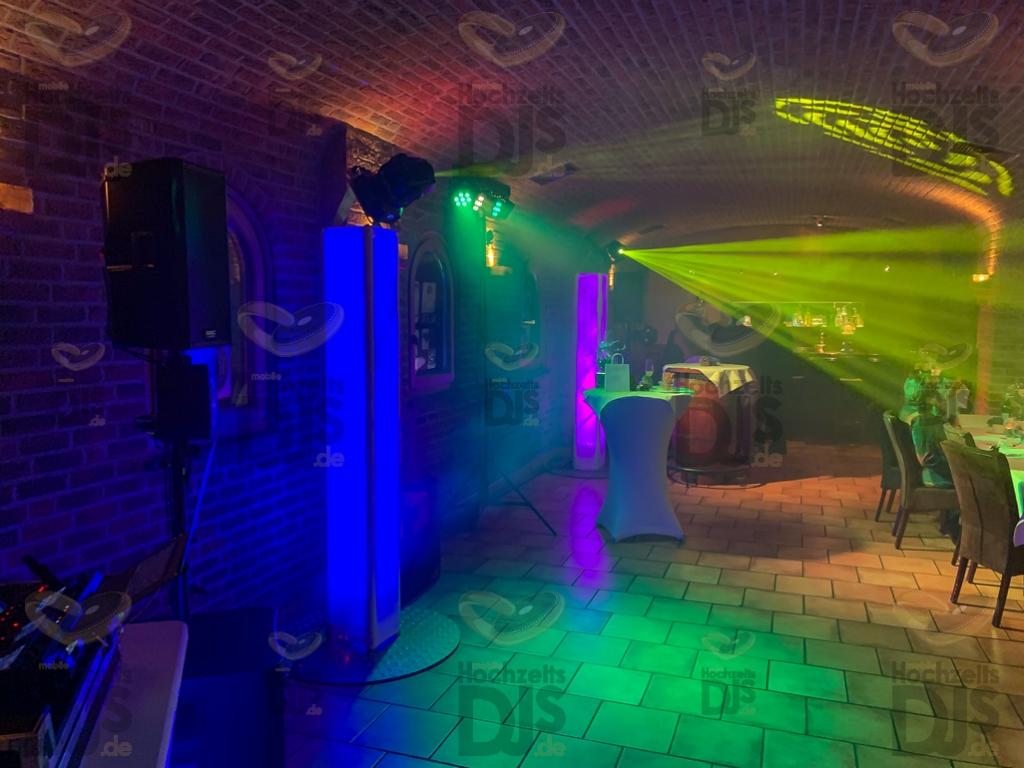 Schloss Friedestrom Gewölbekeller Party