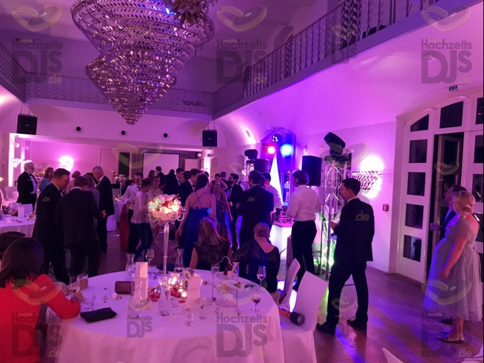 Hochzeitsfeier in Schloss Gartrop