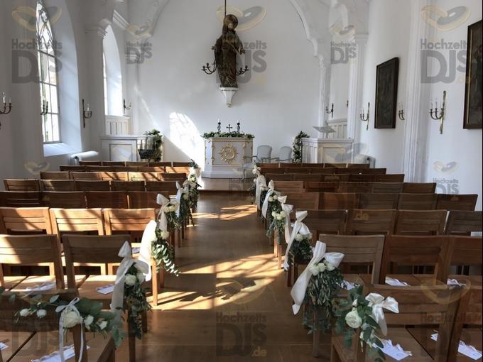 geschmückte Kapelle von Schloss Gartrop